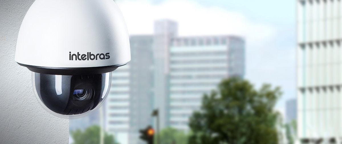 intelbras - camera de seguranca - speed dome