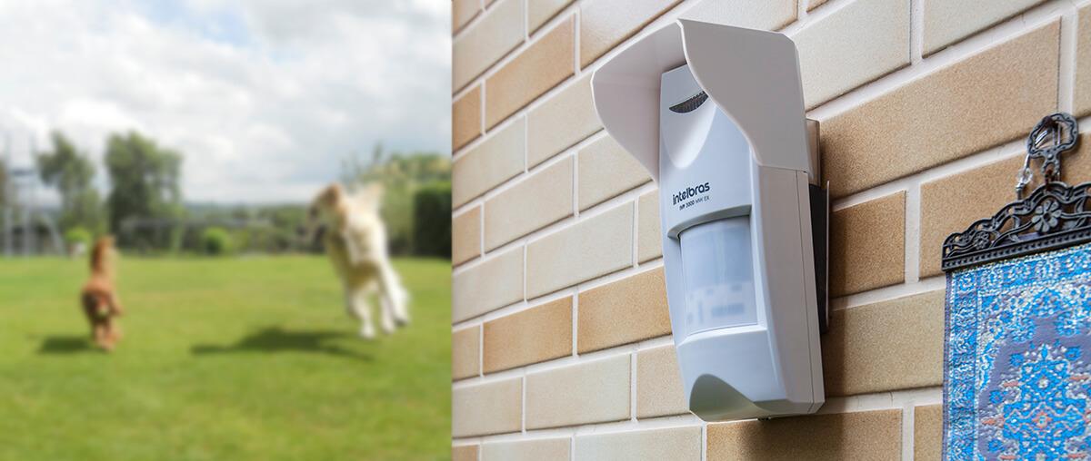 sensores de alarme externo parede