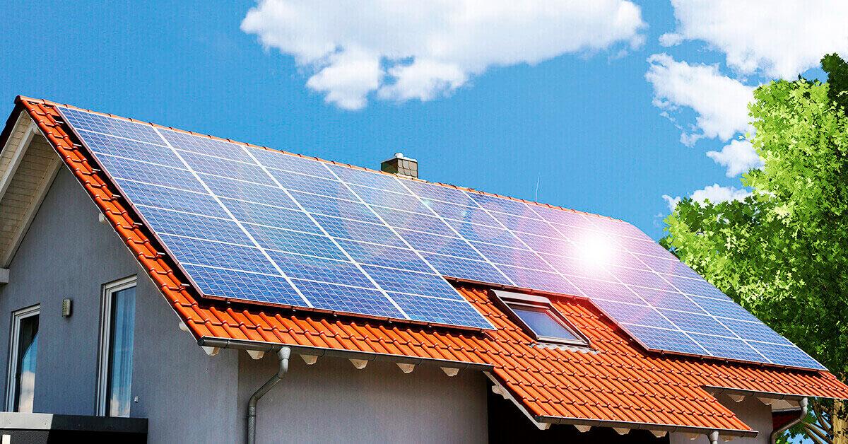 como funciona a energia solar em residências